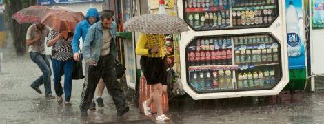 """В Украину надвигается """"тропическая"""" погода с сильными ливнями и температурой до 37 градусов"""