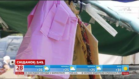 Чи відмовляються українці від шкідливих поліетиленових пакетів