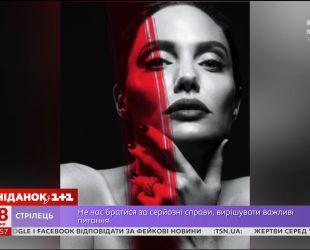 Развод, парализовавший лицо: Анджелина Джоли призналась в проблемах со здоровьем