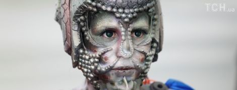 Оголені зомбі та космічні монстри. В Австрії стартував дивовижний фестиваль бодіарту