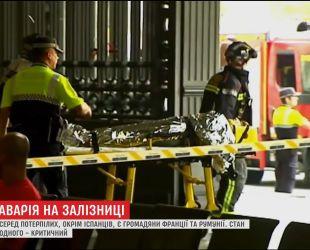 В Барселоне пассажирский поезд врезался в перрон, есть пострадавшие