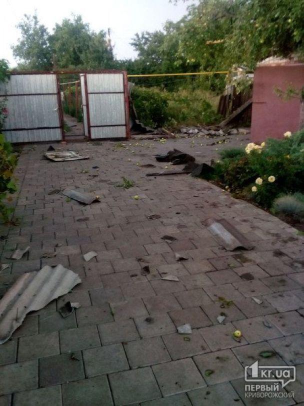 Дома без окон и полеты крыш: в Кривом Роге считают убытки от смерча