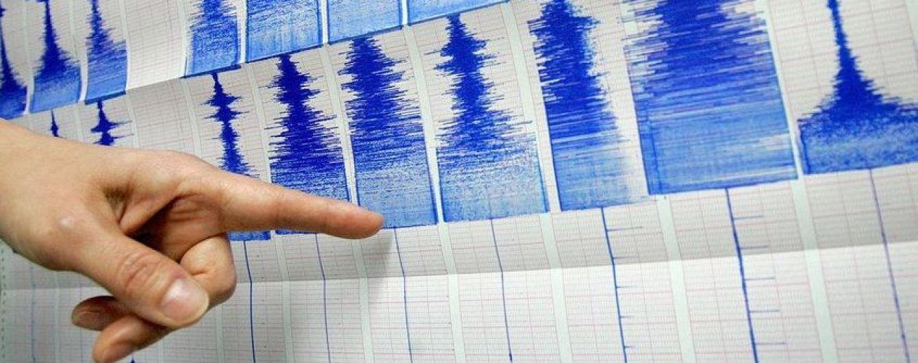 У Тихому океані зафіксували потужний землетрус