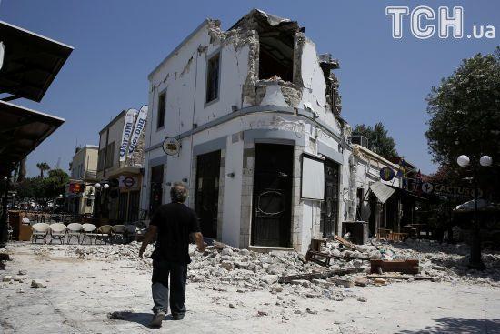 Грецію струсонули землетруси
