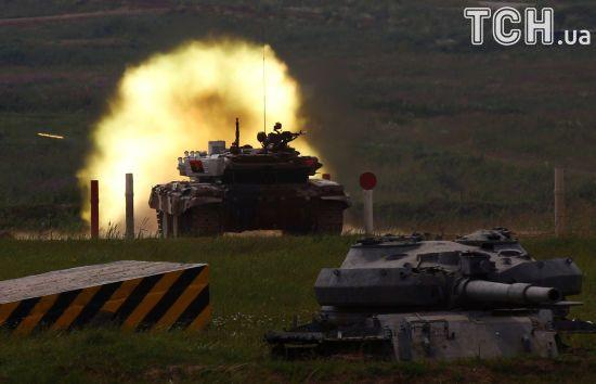 Бойовики з танка і 120-мм мінометів обстріляли українських військових поблизу Водяного
