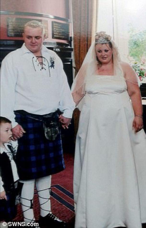 Супруги похудели на 88 килограммов, чтобы во второй раз сыграть свадьбу ради красивых фото
