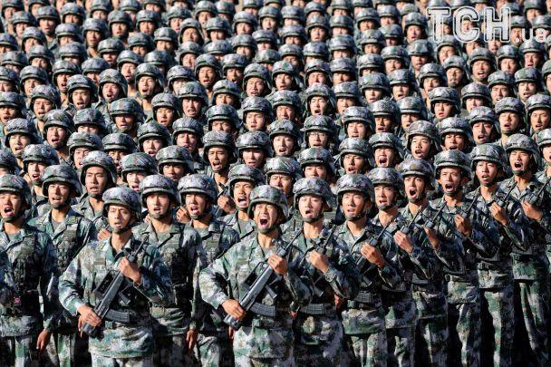 УКитаї почався парад начесть заснування Народної визвольної армії