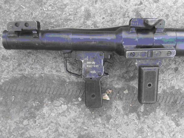 На Луганщині українські бійці під час бою знешкодили бойовика і захопили російську зброю