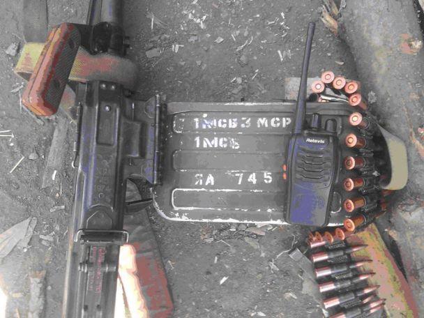 Бійці ЗСУ відбили наступ ДРГ бойовиків, захопивши російську зброю