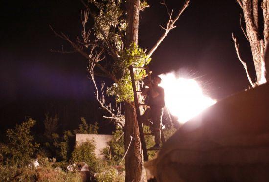 Бойовики почали активно гатити під вечір, поранили 4 українських бійців. Хроніка АТО