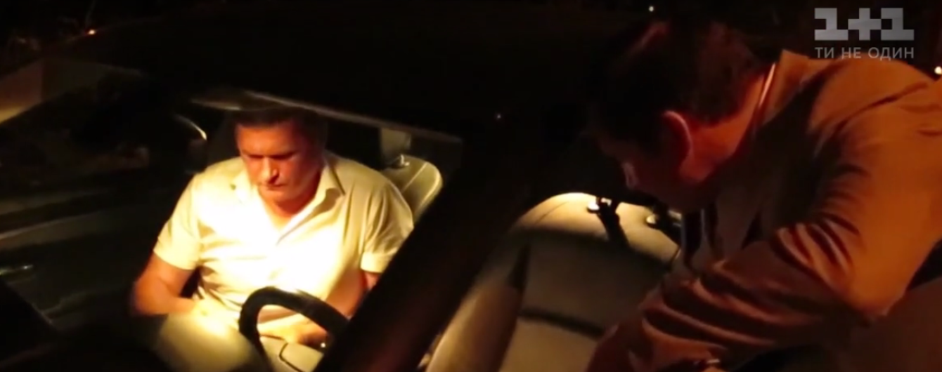 Под Киевом полиция поймала пьяного российского дипломата за рулем