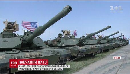 Навчання НАТО за участю України стартували у Грузії