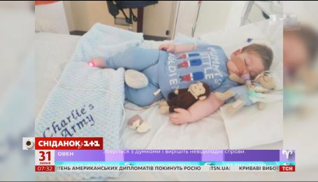 11-месячного Чарли Гарда отключили от аппарата жизнеобеспечения
