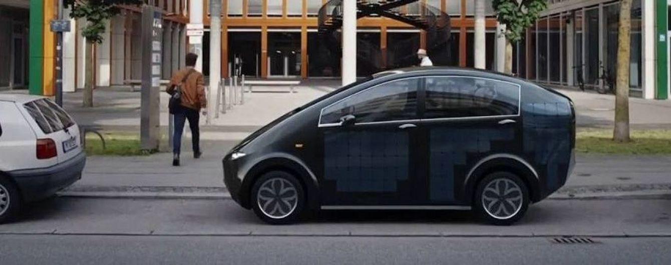 Sono Motors создала электрокар на солнечных батареях