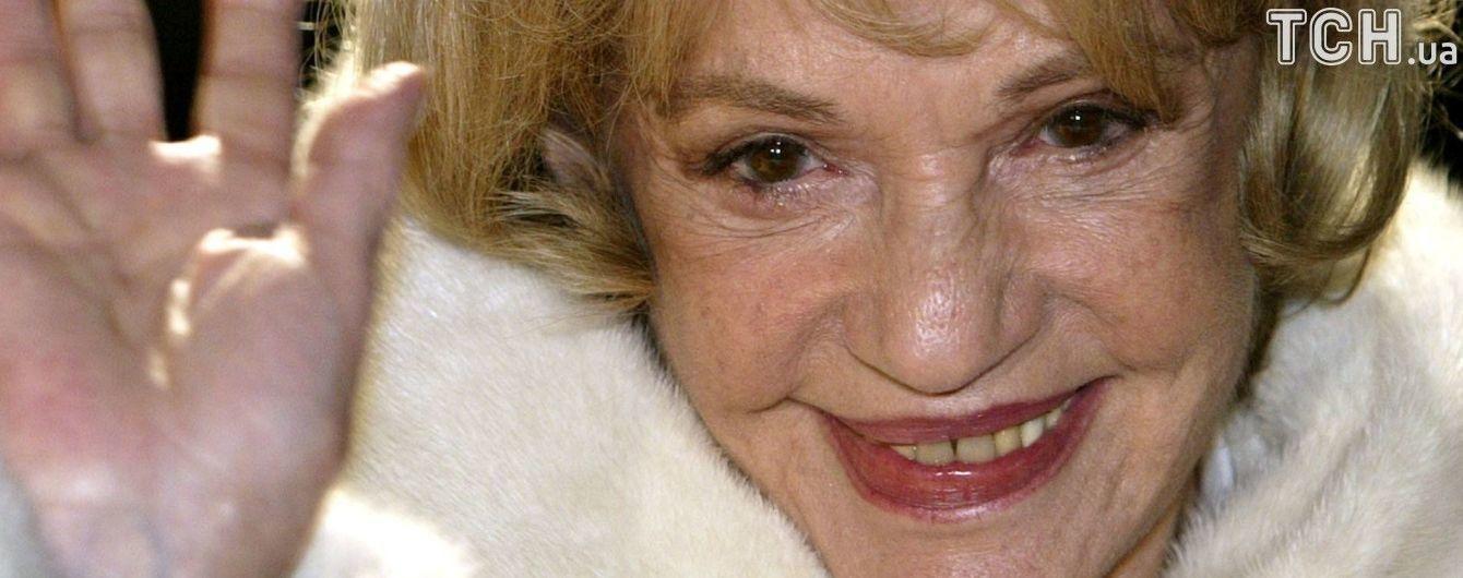 Умерла культовая французская актриса Жанна Моро