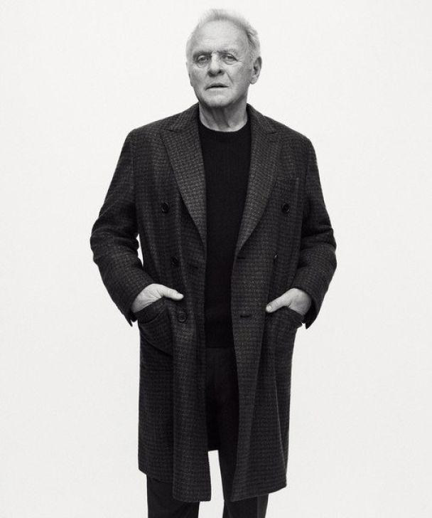 Голливудская звезда Энтони Хопкинс в 79 лет стал моделью
