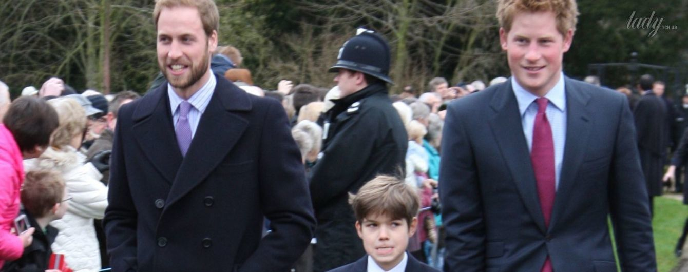 Удивил: 18-летний кузен принцев Уильяма и Гарри похвастался обнаженным торсом