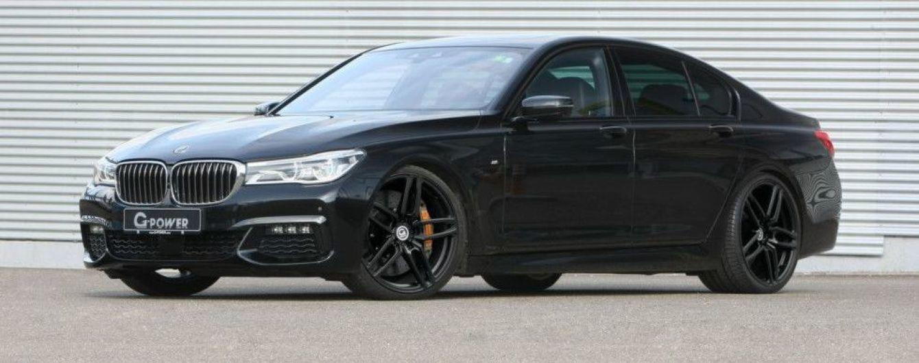 Ателье G-Power добавило мощности дизельному седану BMW 7-Series нового поколения