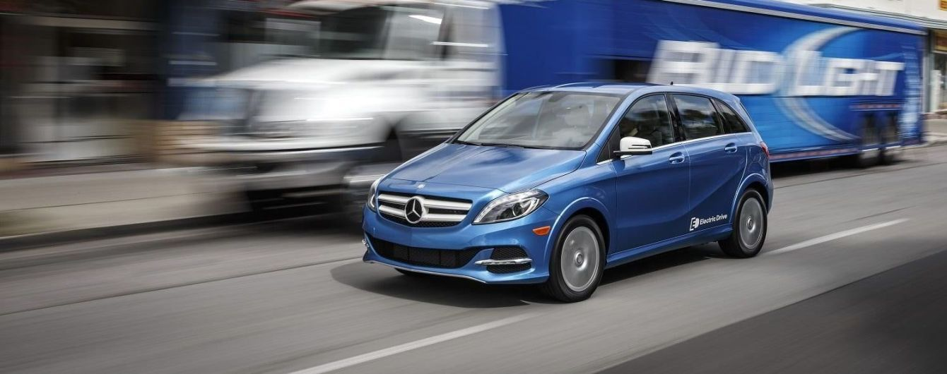 Электрический Mercedes-Benz B-Class EV покинет конвейер до конца 2017 года