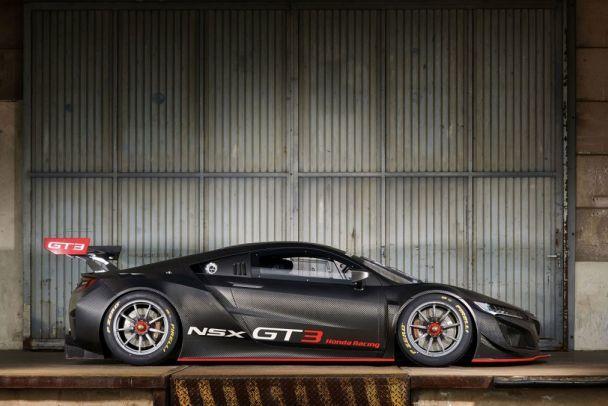 Honda объявила о старте продаж гоночного суперкара NSX