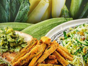 Найкращі страви з кабачків та цукіні