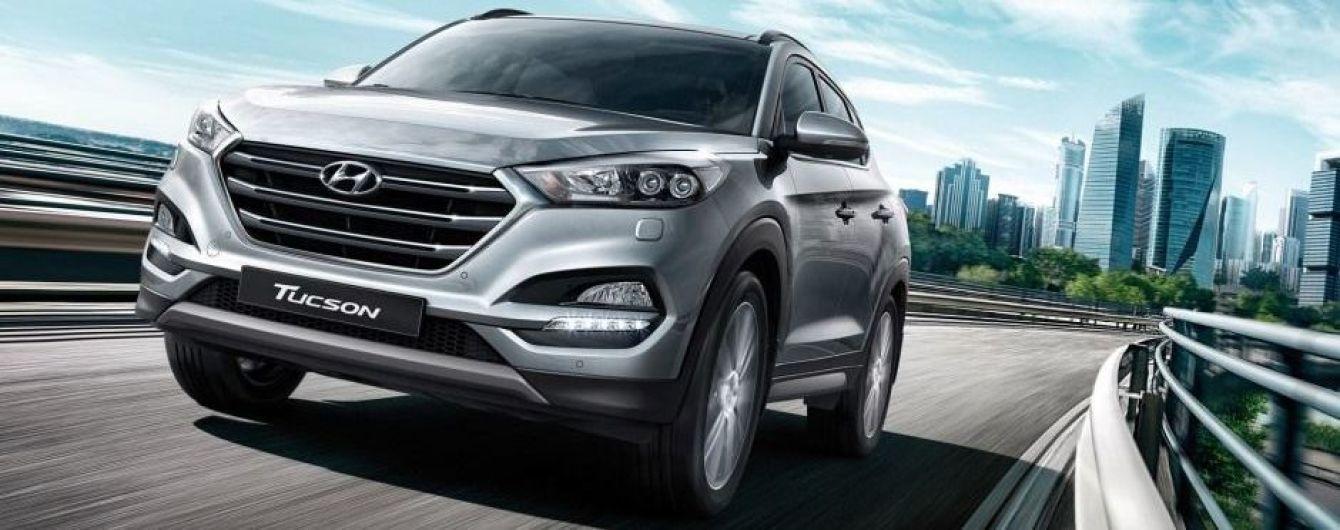 В Украине появился Hyundai Tucson в новой комплектации