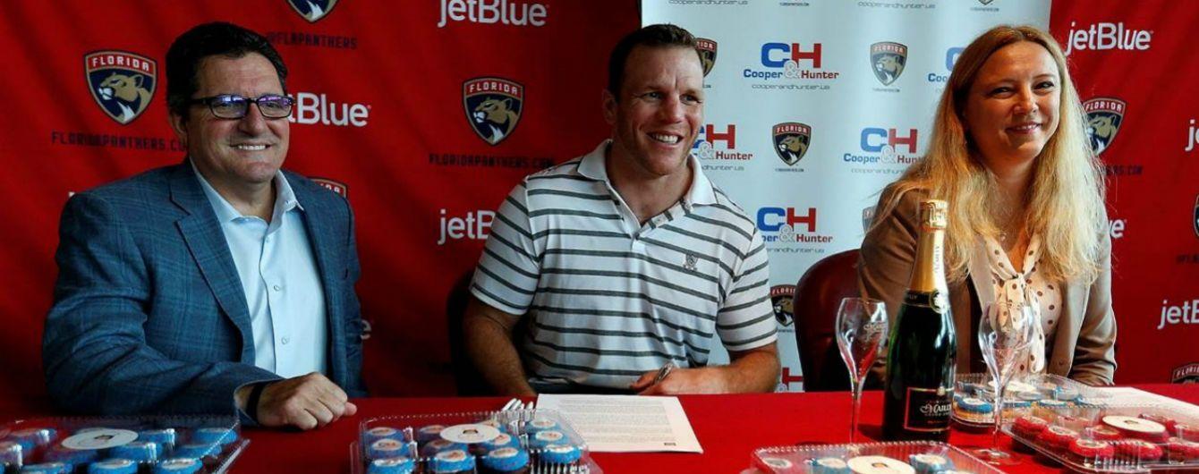 Cooper&Hunter стал официальным партнером хоккейной команды НХЛ Florida Panthers