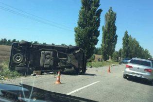 На Херсонщині сталася ДТП за участю військової техніки, є постраждалі