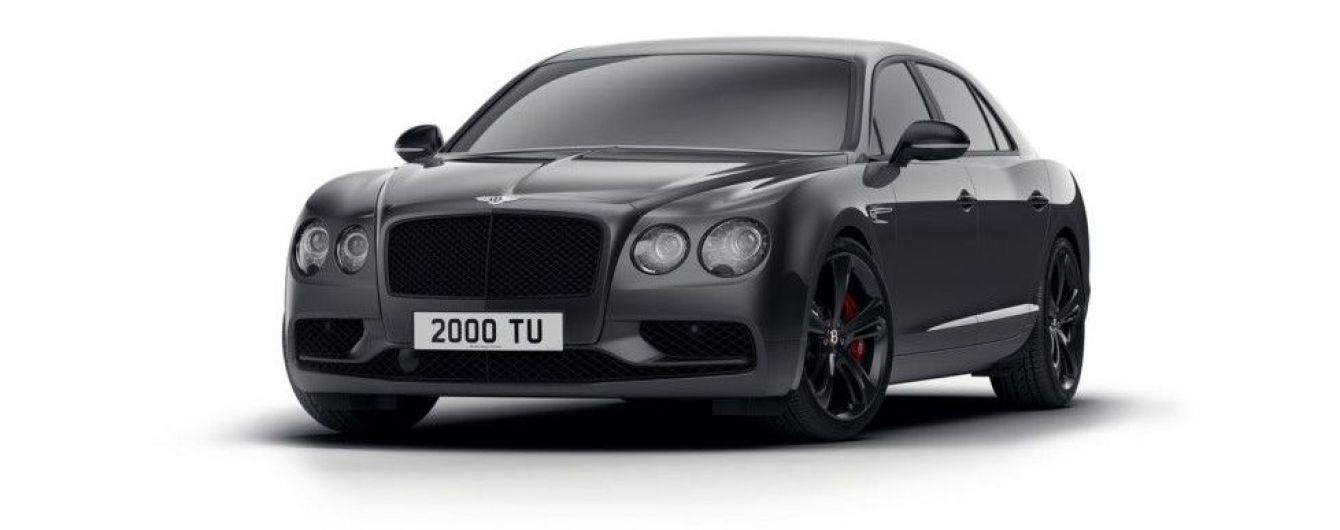Bentley представил седан Flying Spur в спецверсии Black Edition