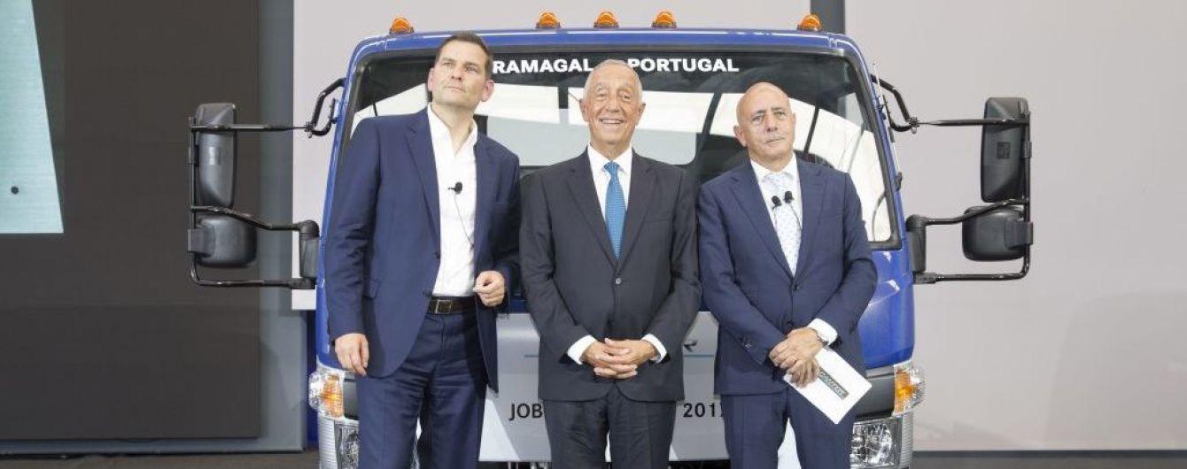 В Португалии встал на конвейер электрогрузовик Fuso eCanter