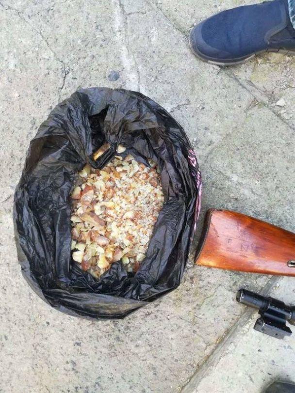 На Волыни у контрабандистов изъяли янтаря на миллион гривен