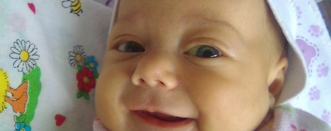 Життя 6-місячної Мирослави під загрозою