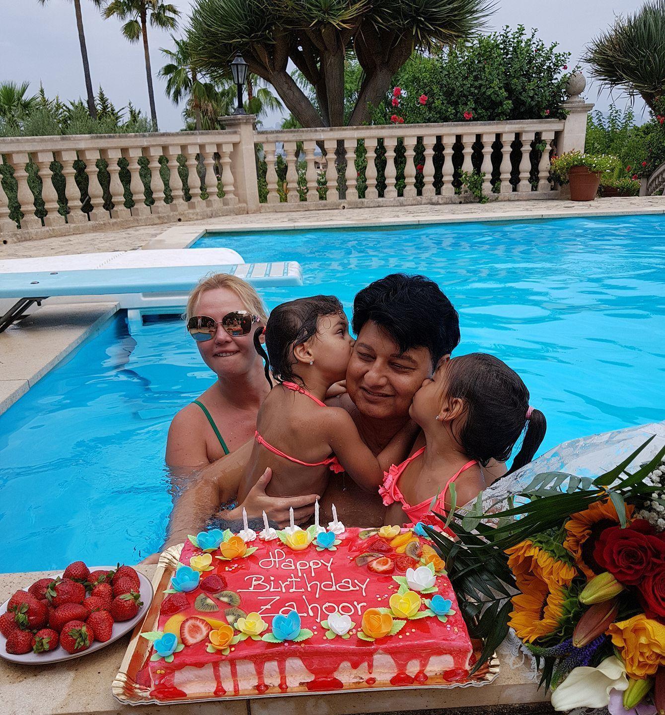 Камалія привітала чоловіка із днем народження_1