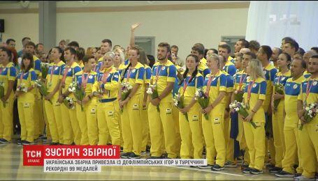 Украинская сборная привезла с Дефлимпийских игр в Турции рекордные 99 медалей