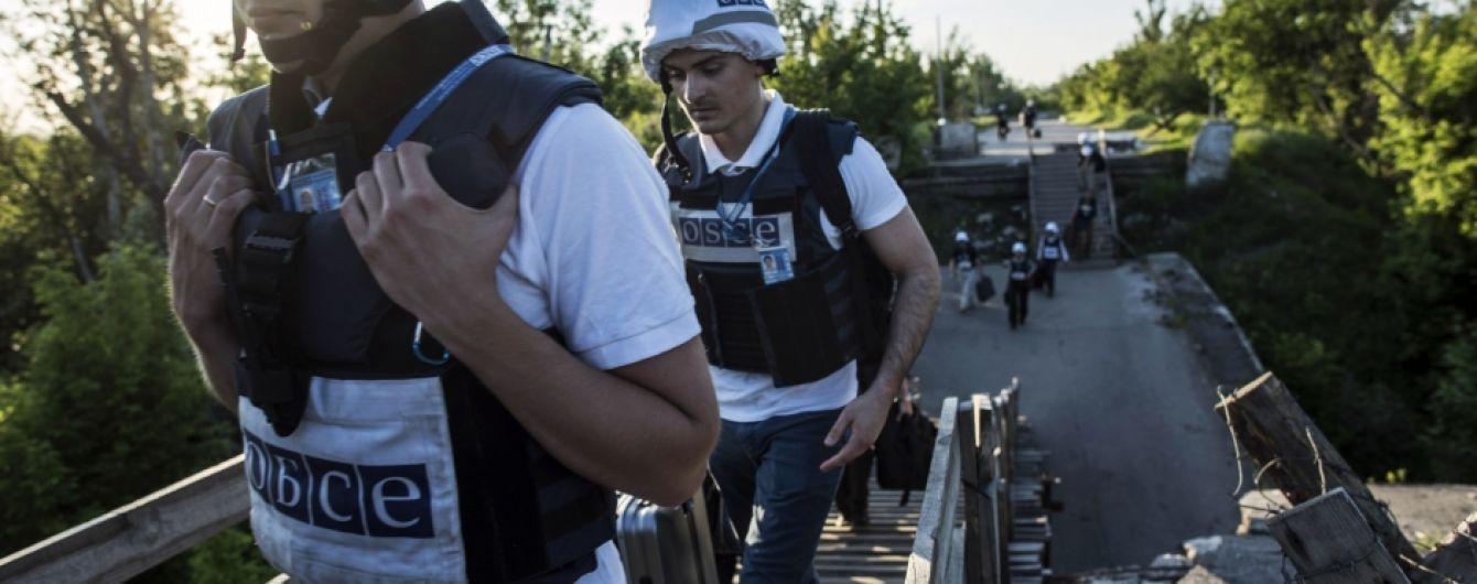 ОБСЄ зафіксувала понад 400 вибухів на Донбасі за добу