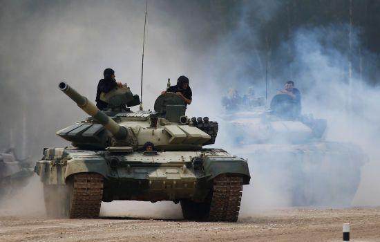 На Донбасі безпілотник ОБСЄ виявив 48 танків терористів