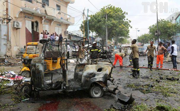 В столице Сомали в результате мощного взрыва погибли 6 человек