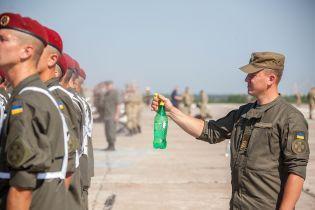 Нацгвардія показала репетицію військового параду на День Незалежності