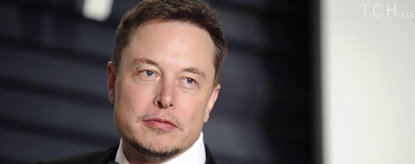 Ілон Маск викупив 33 тисячі акцій власної компанії Tesla