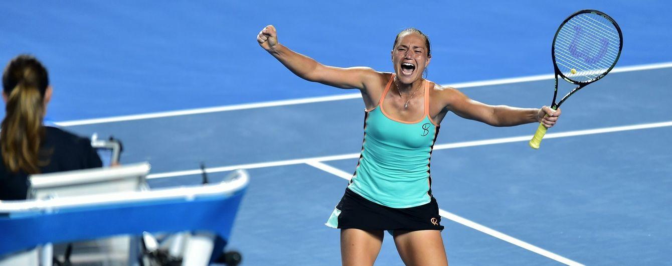 Украинка Бондаренко проиграла битву за полуфинал теннисного турнира в Хорватии
