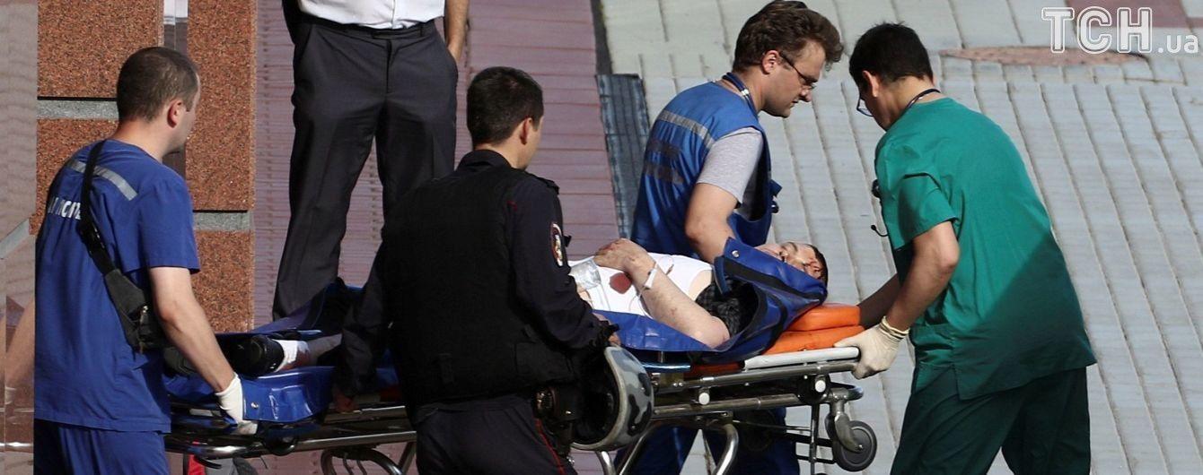 П'ятий нападник на конвоїрів у Москві перебуває у важкому стані - ЗМІ
