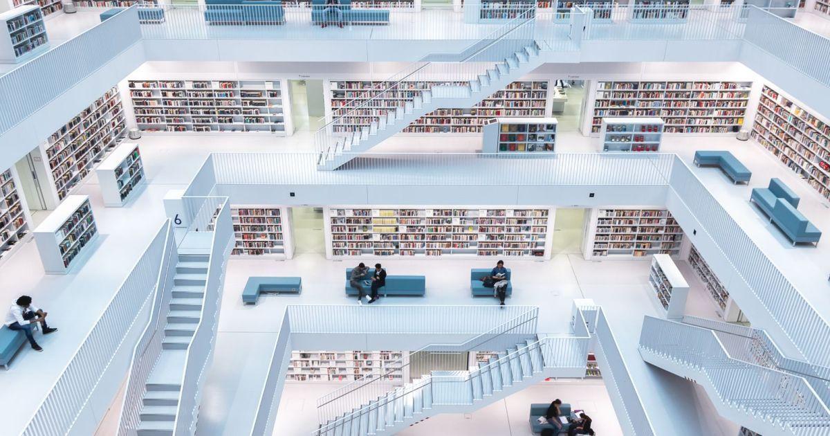 Бібліотека у Німеччині, Норберт Фріц