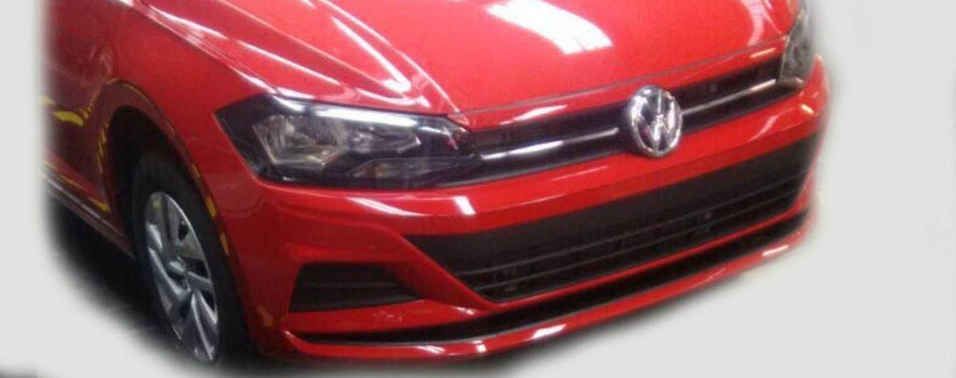 В Сети рассекретили седан Volkswagen Polo нового поколения