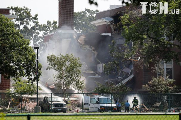 В США в результате взрыва в школе пропали без вести два человека
