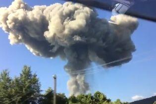 В Абхазии 35 россиян пострадали от мощных взрывов на складе боеприпасов