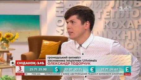 Активіст Олександр Тодорчук розповів про штрафи за жорстоке поводження з тваринами