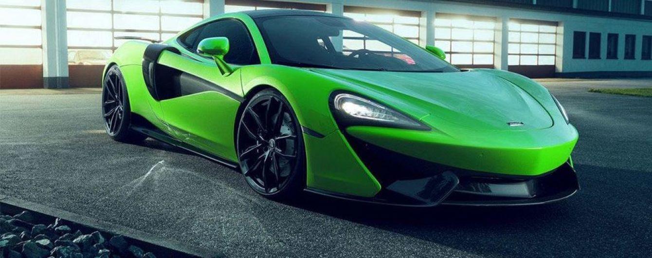 Ателье Novitec подготовило программу доработок для McLaren 570GT