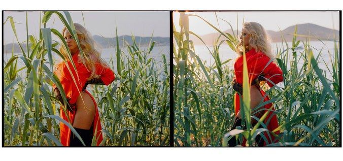 Памела Андерсон для w magazine_5
