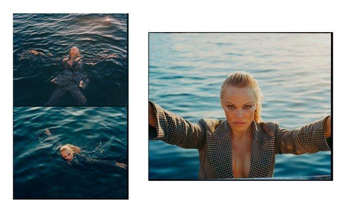 Памела Андерсон для w magazine_7