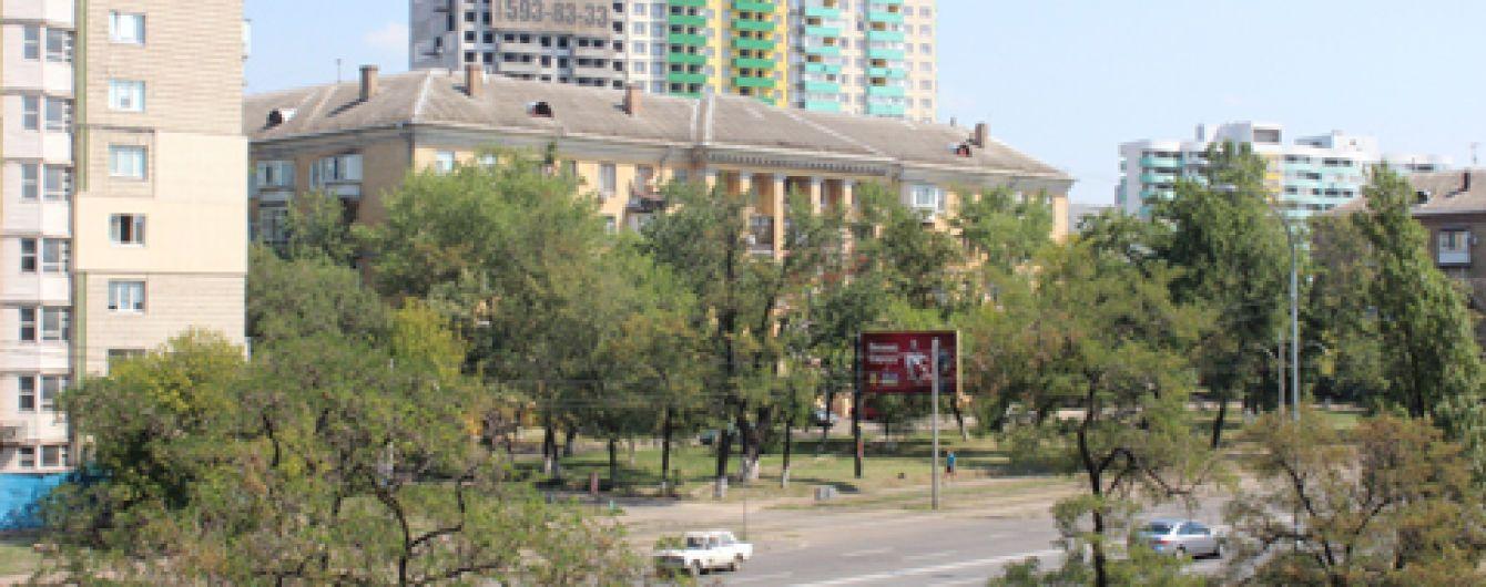 В Киеве после митинга восстановили движение на Харьковском шоссе